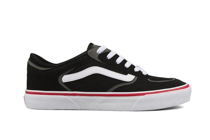 Vans Vault Rowley Classic Lx Black Red 1 Sneaker Freaker
