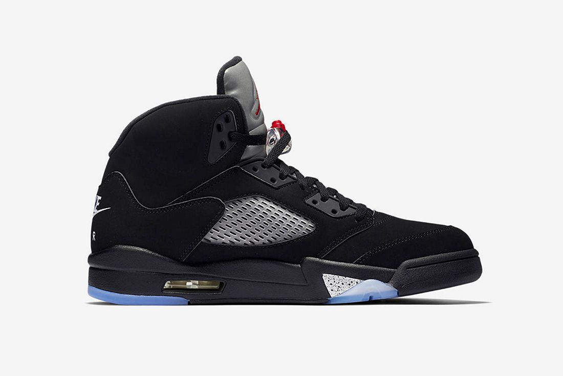 Air Jordan 5 Metallic Silver 2016 Retro 4