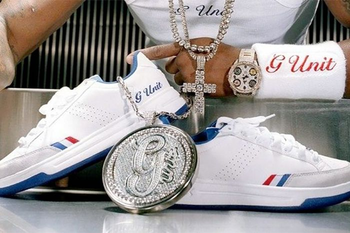 Reebok G Unit White Royal Hero