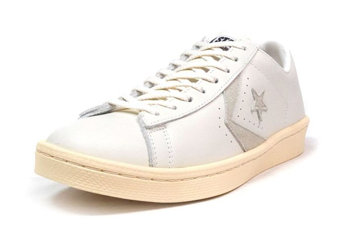 Converse Pro Leather Low 76 Ox Limited Edition White Tan 3