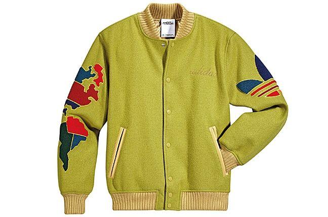 Adidas Jeremy Scott Varsity Jacket Globe 7 1