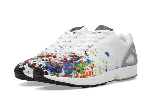 Adidas Zx Flux Splattered Toe Bumper 5
