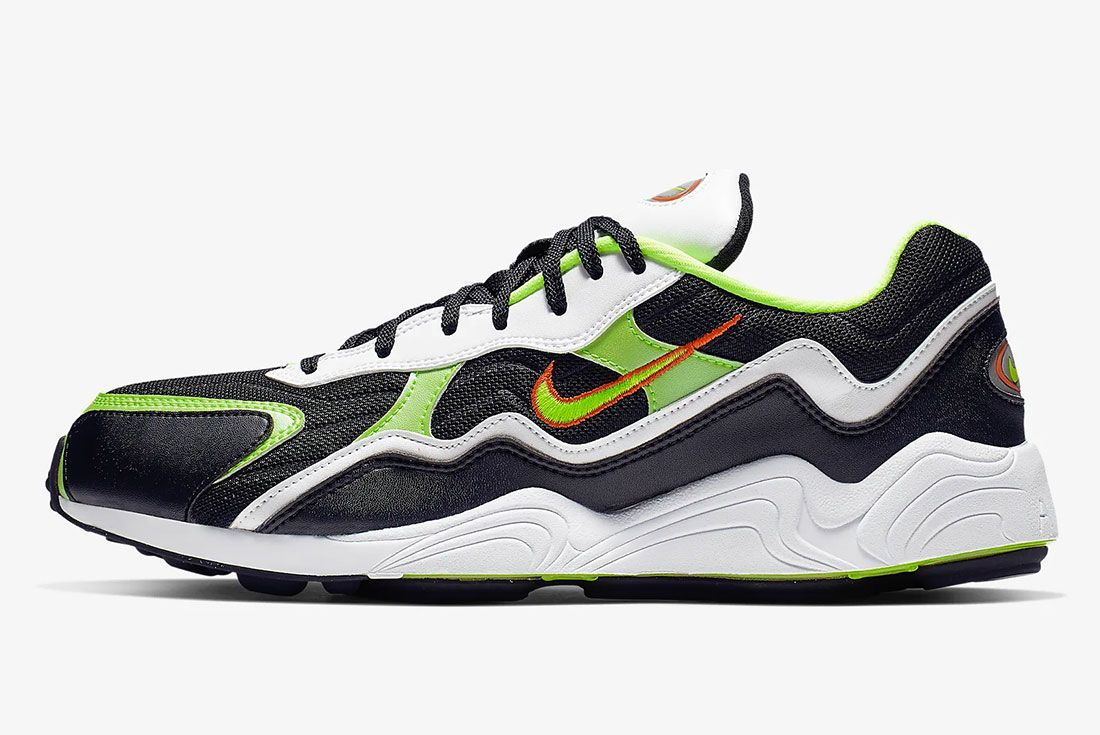 Nike Air Zoom Alpha Black Habanero Red Volt Side