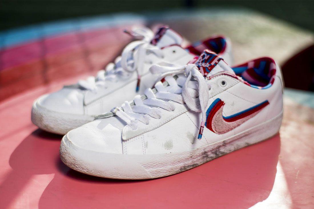 Parra Nike SB Blazer Low