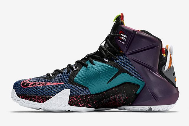 Nike Lebron 12 What The10
