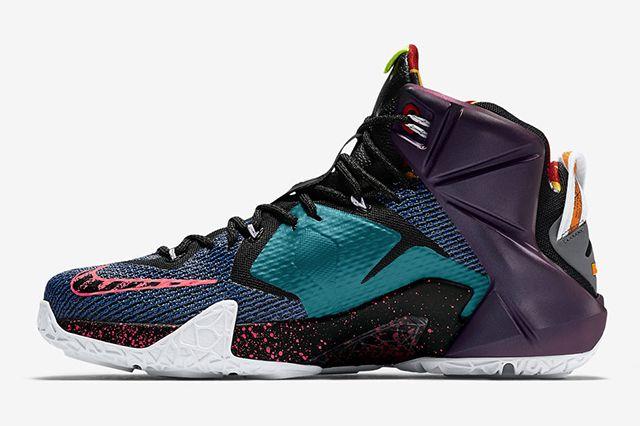 Nike Lebron 12 What The10
