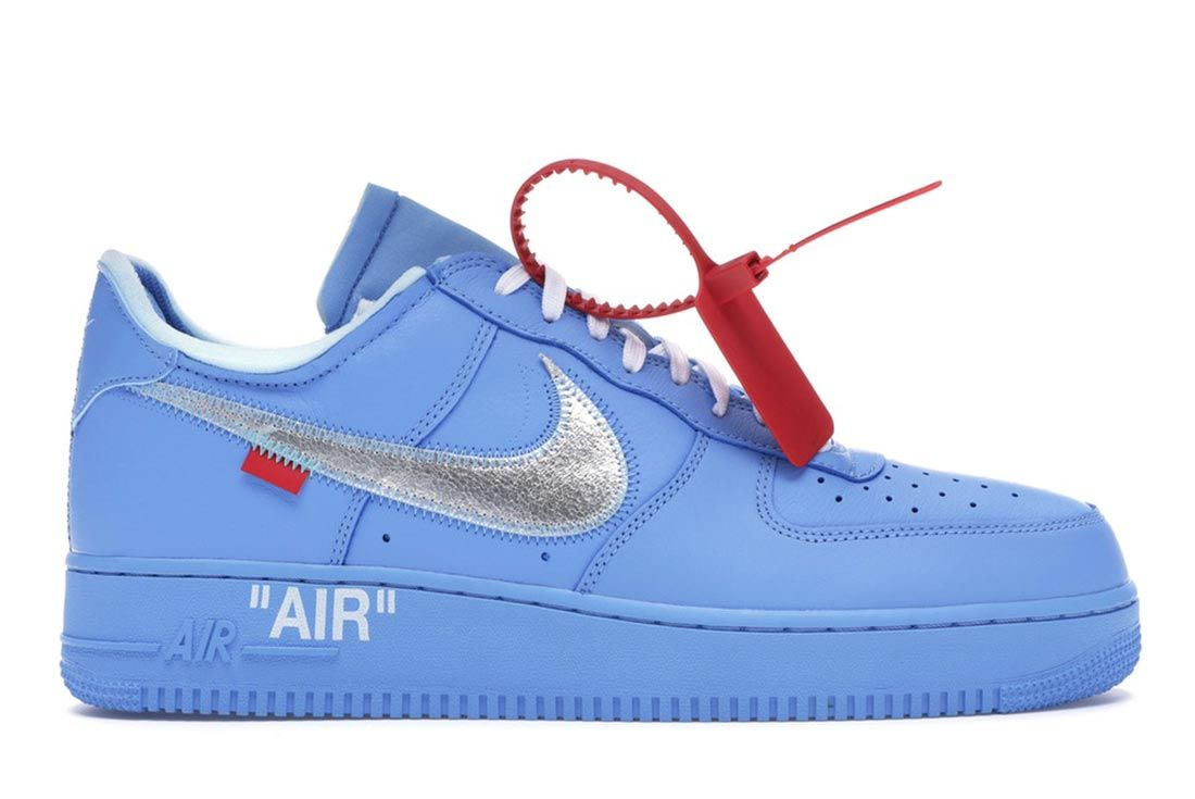 Nike Air Force 1 Off White Mca Lateral Side Shot