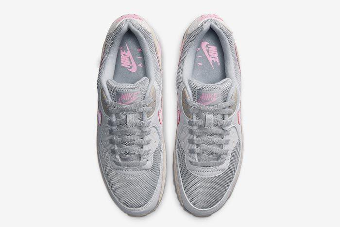 Nike Air Max 90 Grey Grey Pink Top