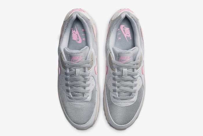 Nike Air Max 90 Grey Grey Pink Top