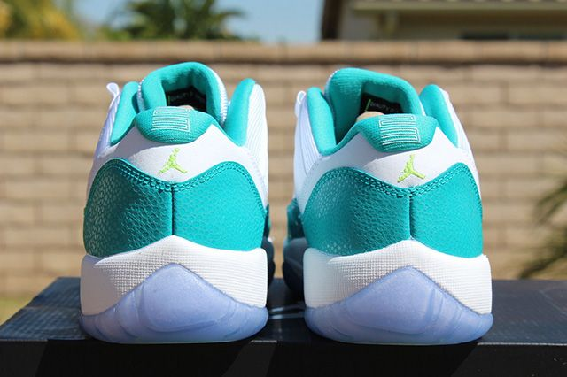 Air Jordan 11 Low Turbo Green 6