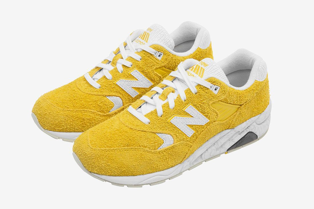 Randomevent X New Balance 580 Yellow 2 Pair