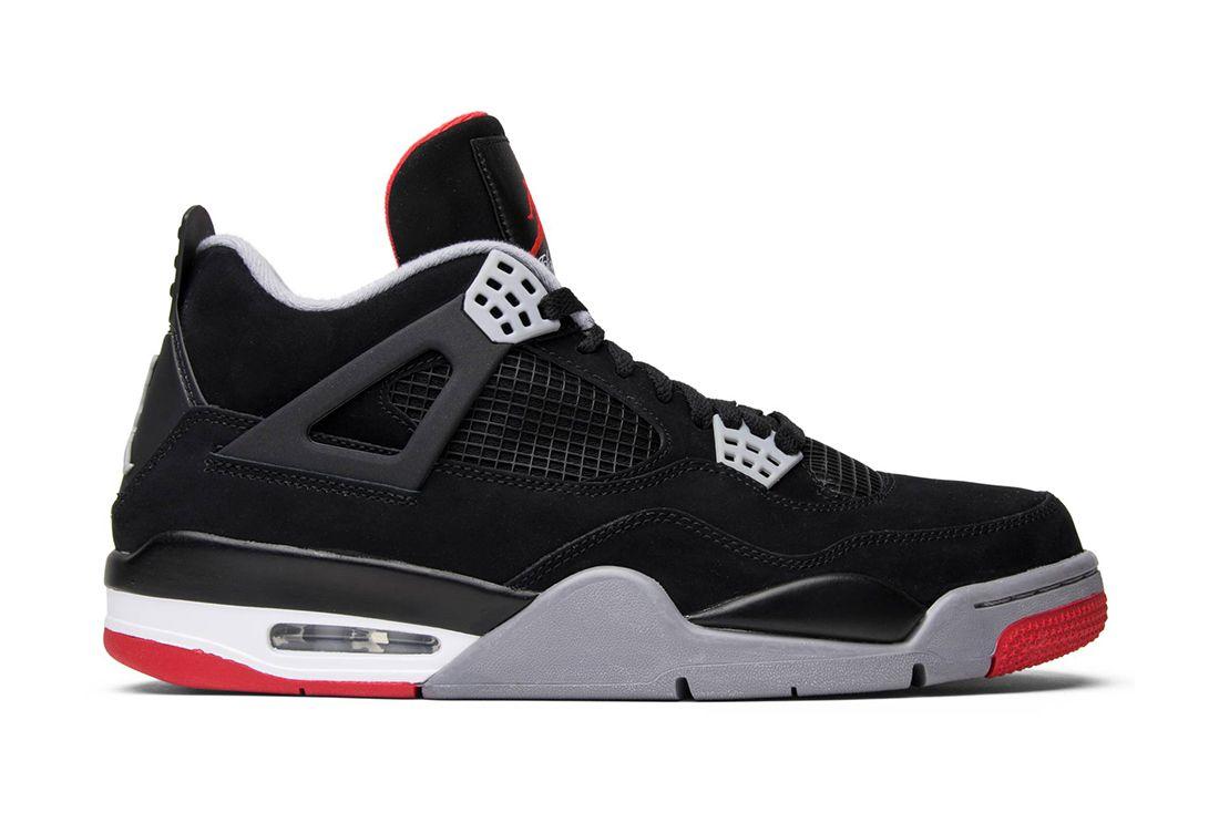 Air Jordan 4 Bred 2012 308497 089 Lateral