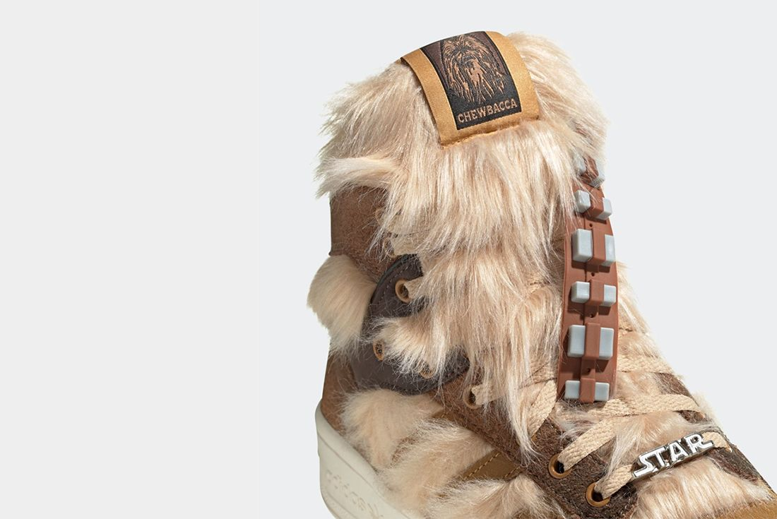 adidas x Star Wars Rivalry Hi Chewbacca Tongue