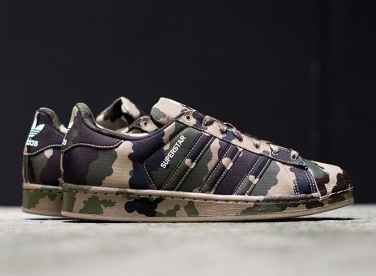 adidas Superstar (Woodland Camo) - Sneaker Freaker