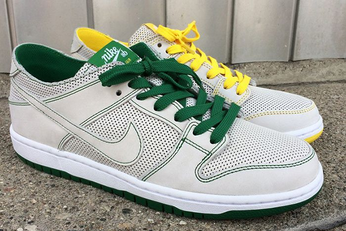 Ishod Wair Nike Sb Dunk Low Green Yellow 2 Sneaker Freaker