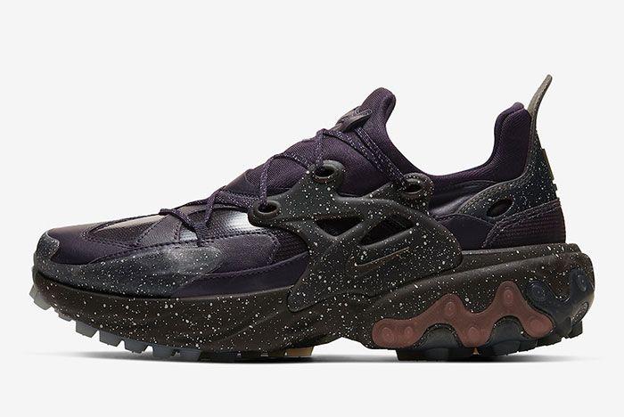 Undercover Nike React Presto Purple Lateral Side Shot