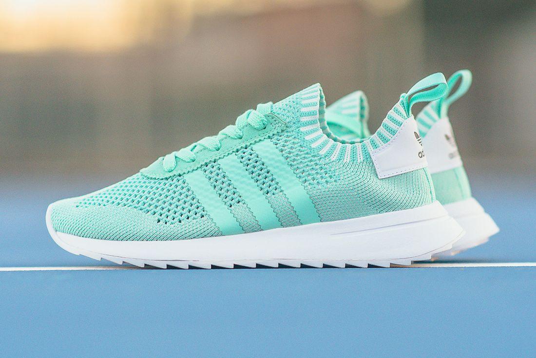 Adidas Flashback Primeknit Wmns Easter Green 6