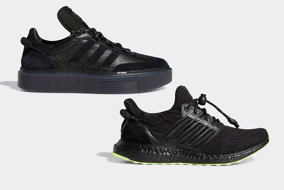 Ivy Park adidas Sleek Super 72 UltraBOOST Black