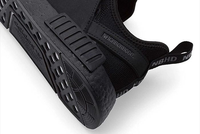 Adidas Neighborhood Nmd Triple Black 3