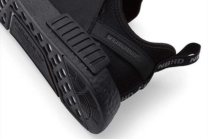 Adidas Neighborhood Nmd Triple Black 3