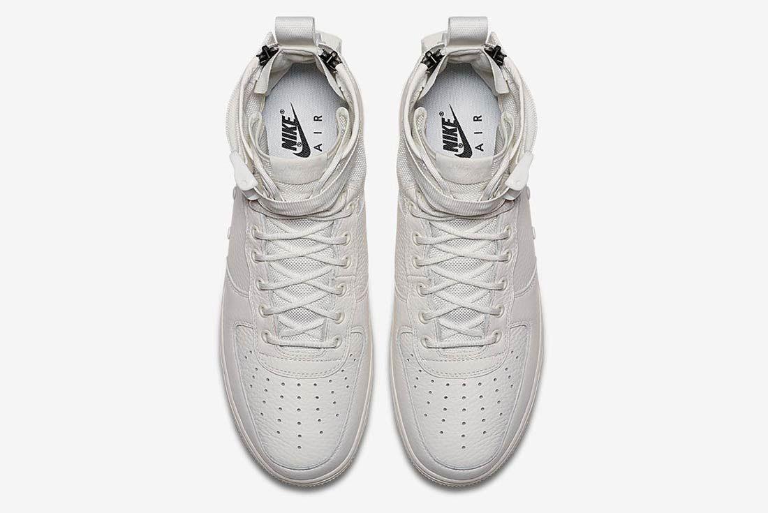 Nike Sf Air Force 1 Triple Ivory 4