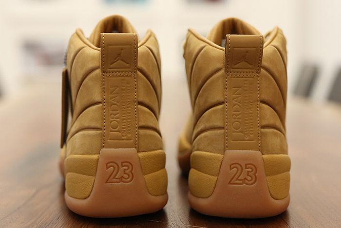 Psny X Air Jordan 12 Wheat5