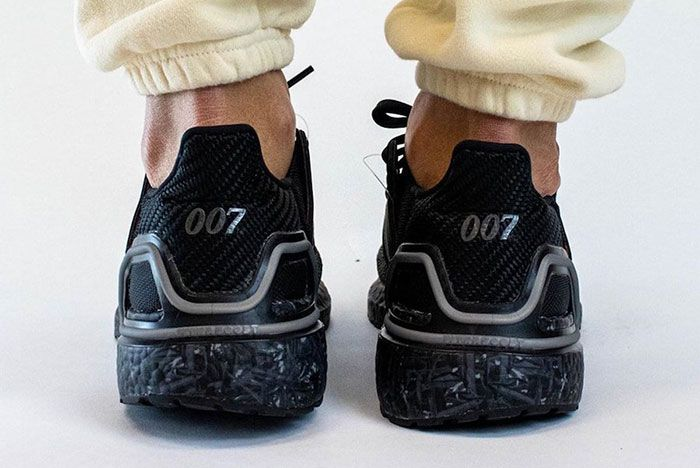 James Bond 007 Adidas Ultra Boost On Foot Heel Shot