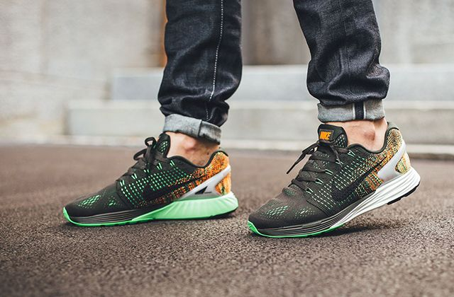 Nike Lunarglide 7 Green 1