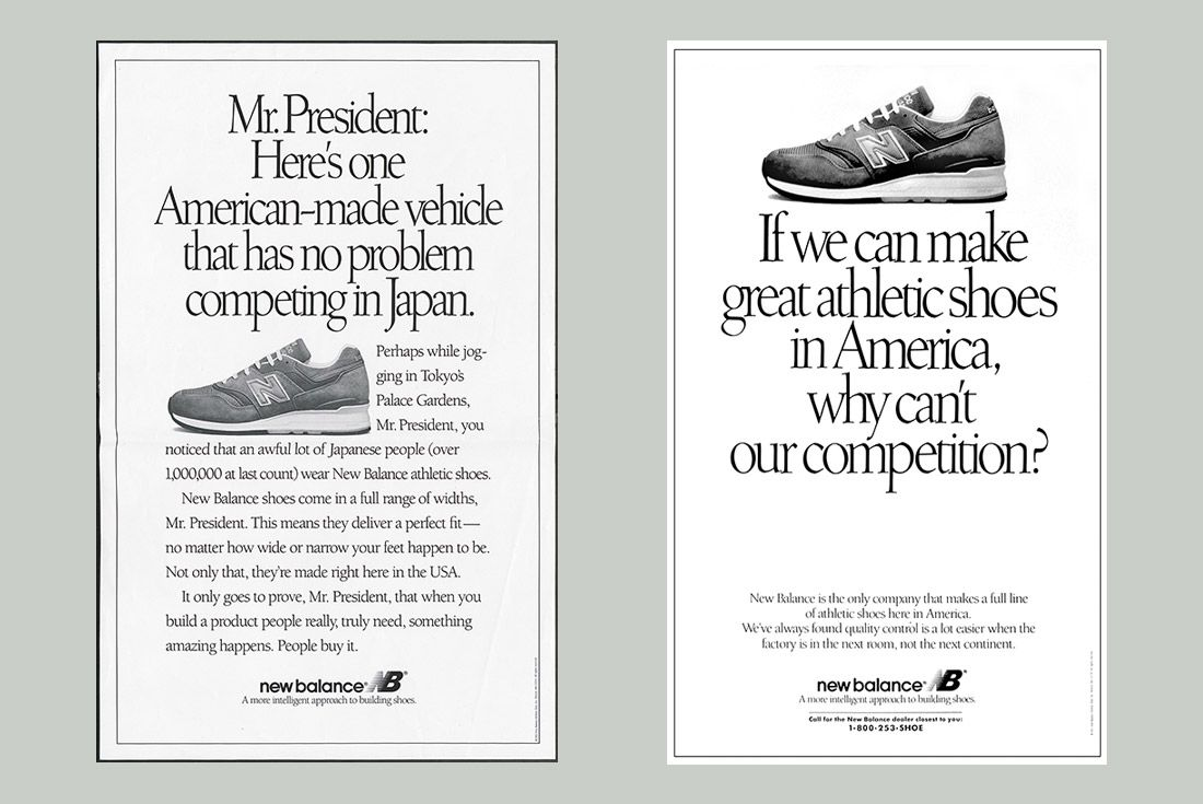 History Of New Balance 990 Made In Usa 1
