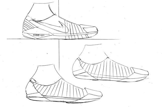 Nike Kobe 8 Sketch 1