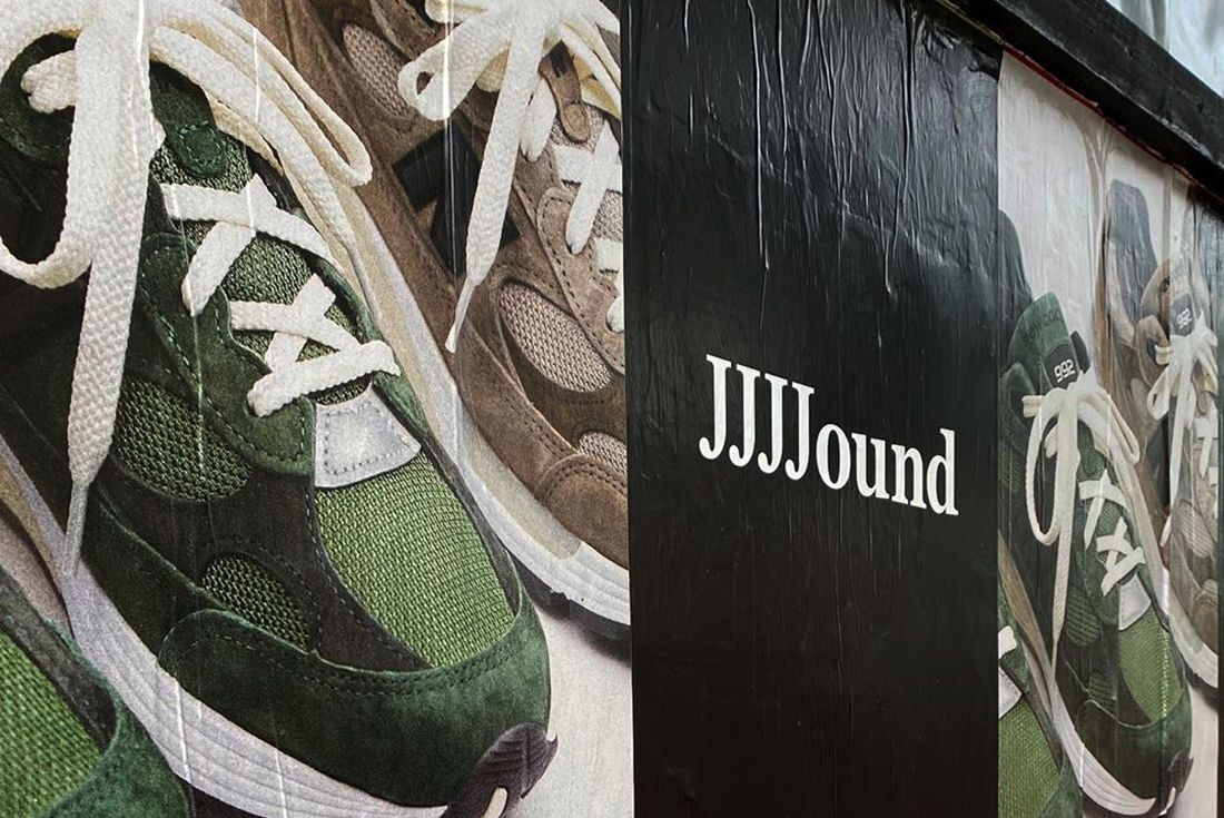 JJJJound New Balance 992 Billboard