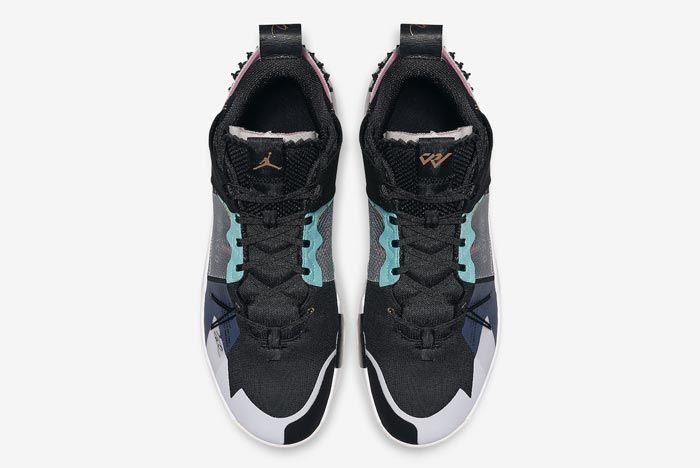 Jordan Why Not Zer0 2 Vast Grey Top