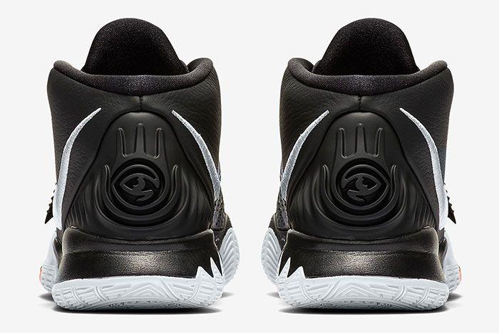 Nike Kyrie 6 Black Bq4630 001 Release Info 3 Heel