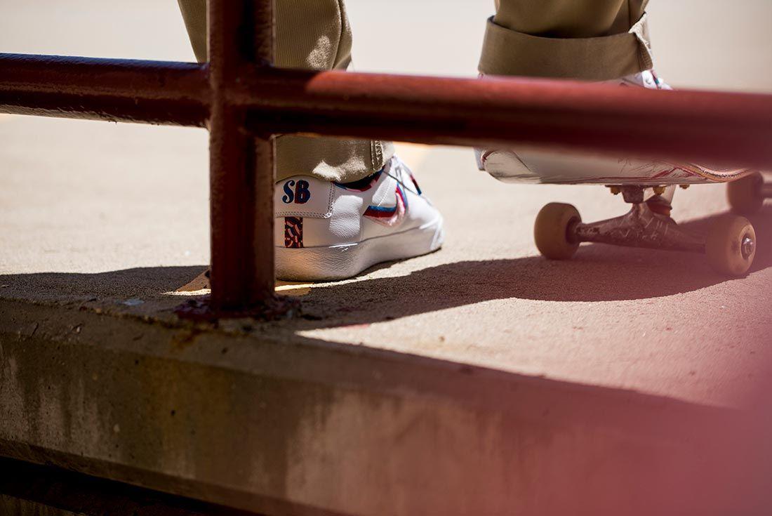 Parra Nike Sb Blazer Low Skated Pair 2