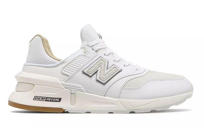New Balance 997S Saffiano White Lateral