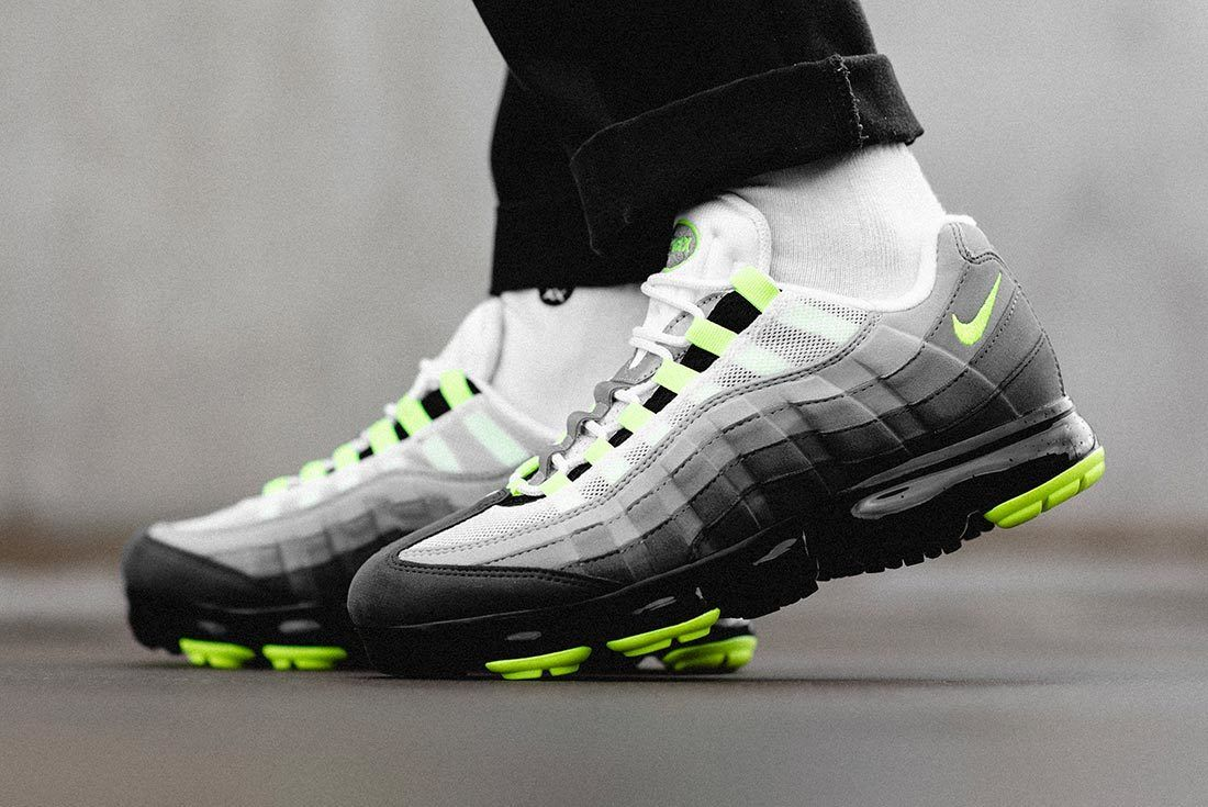 Neon' Nike Air VaporMax 95s Available