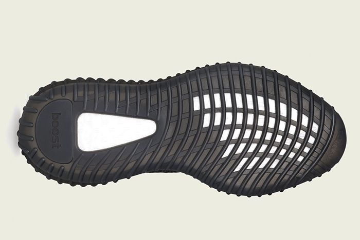 Adidas Yeezy Boost 350 V2 Black Reflective Sole Shot