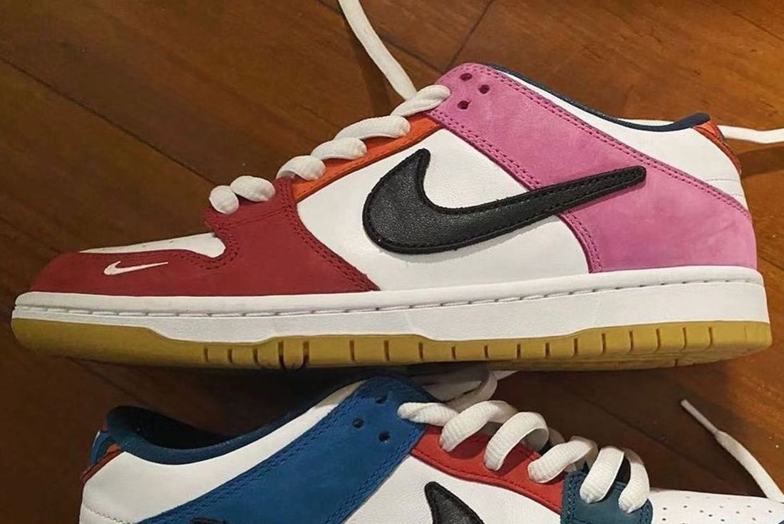 Parra x Nike SB Dunk Low for 'Friends and Family' leak