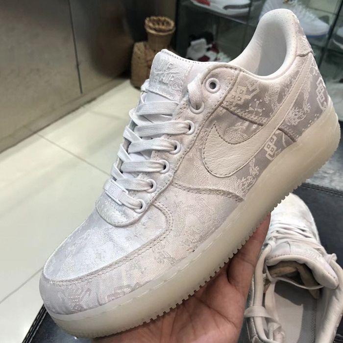 Clot X Nike Air Force 1 Sneaker Freaker 2