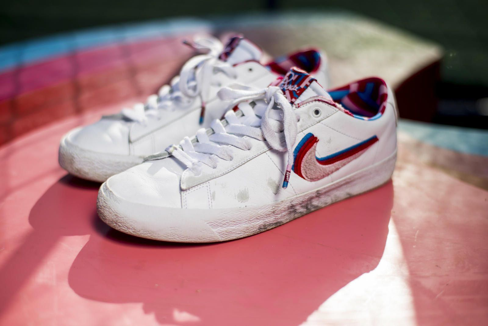 Parra Nike Sb Blazer Low Skated Pair