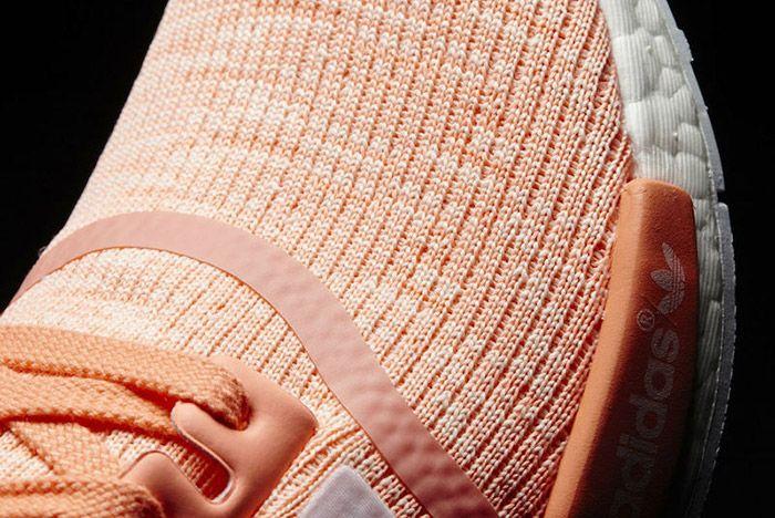 Adidas Nmd R1 Glitch Sun Glow Peach 2