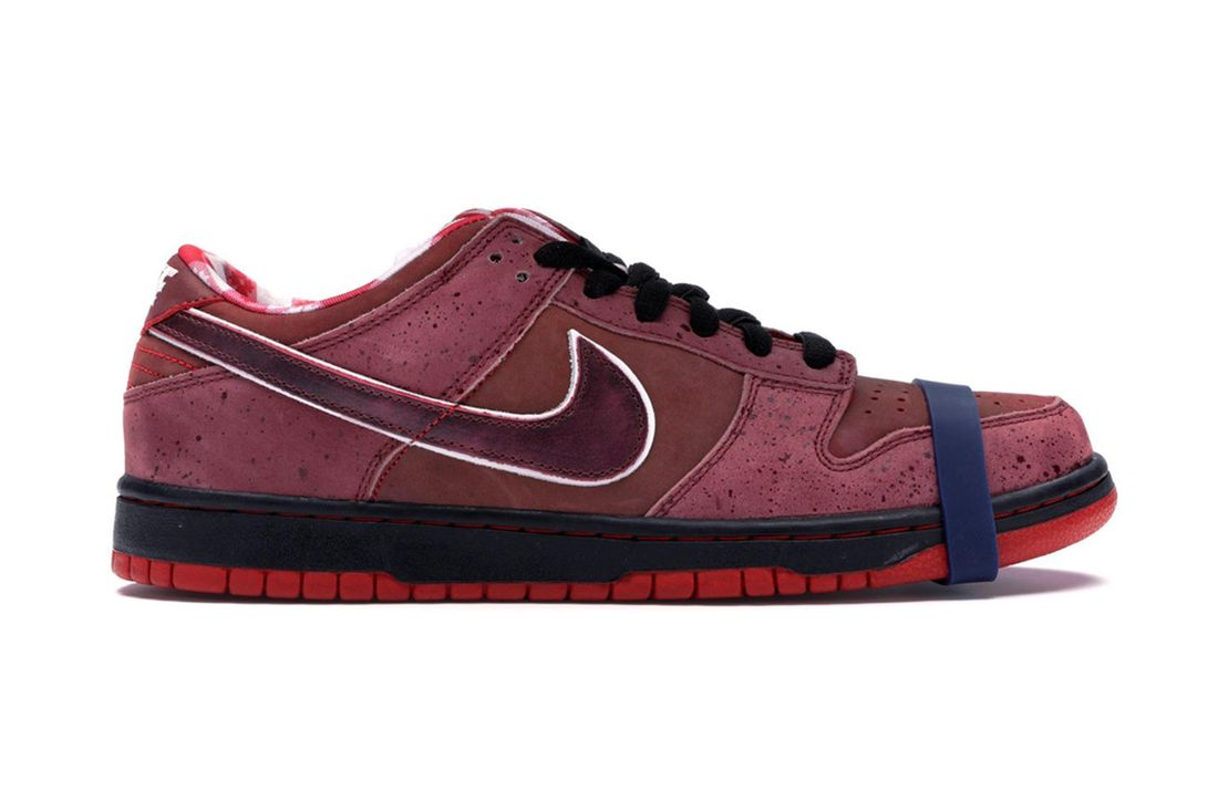 Concepts Nike Sb Dunk Low Red Lobster 313170 661 Lateral