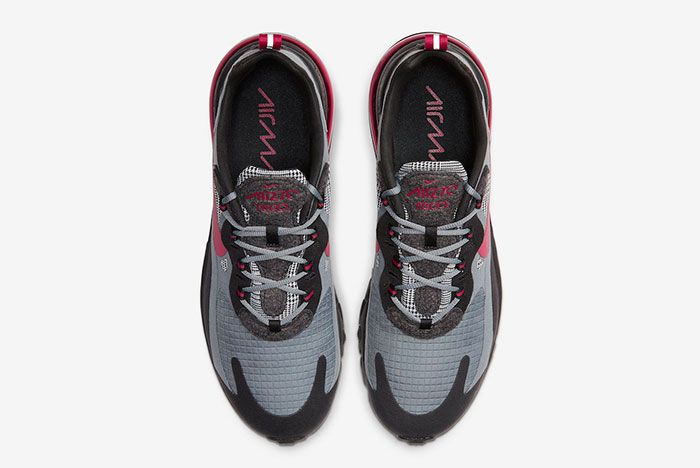 Nike Air Max 270 React Houndstooth Ct3135 001 Top