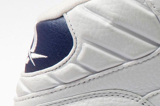 Reebok Question Mid White Pearlized Navy Heel Logo 1
