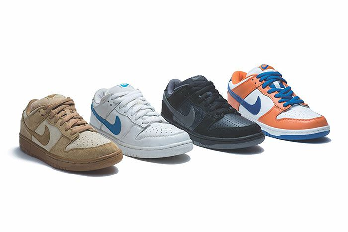 Nike Sb Dunk Low Colours By Group Shot