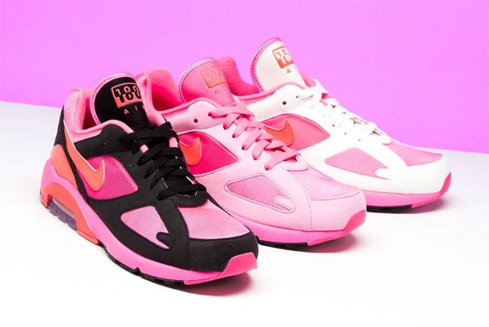 Comme Des Garcons Nike Air 180 Pink 1