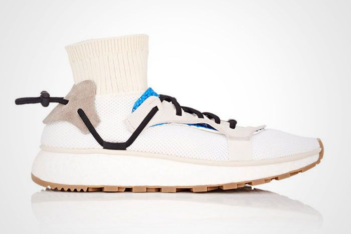 Adidas Alexander Wang Aw Run White Blue Thumb