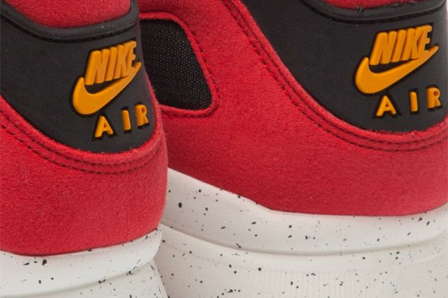 Nike Air Current Red Heel Logos 1