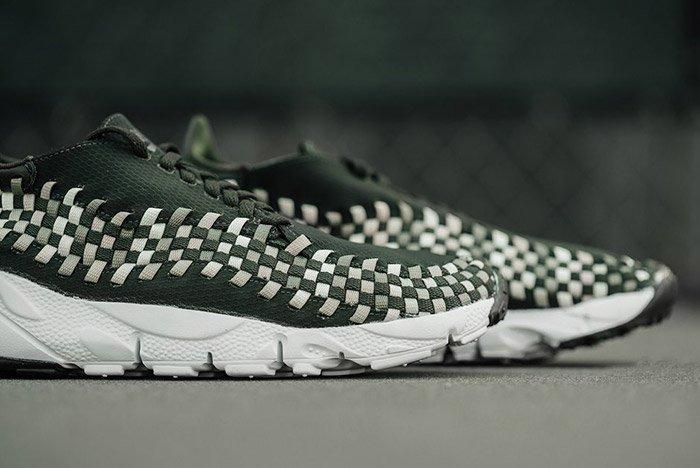 Nike Air Footscape Woven Sequoia Green 2