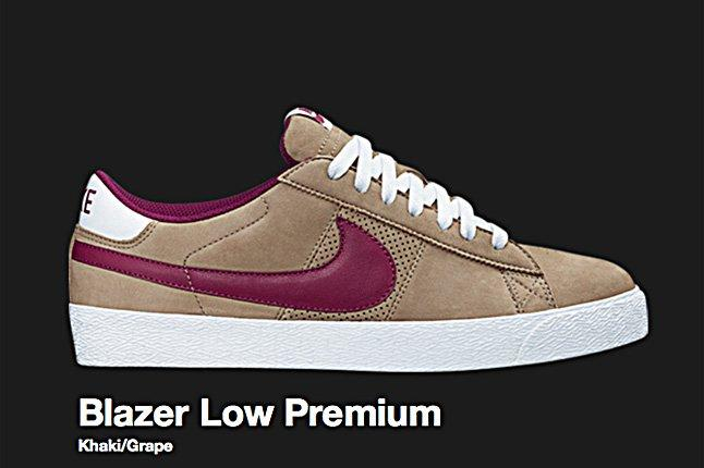 Nike Sb Blazer Low Premium Khaki 2008 1